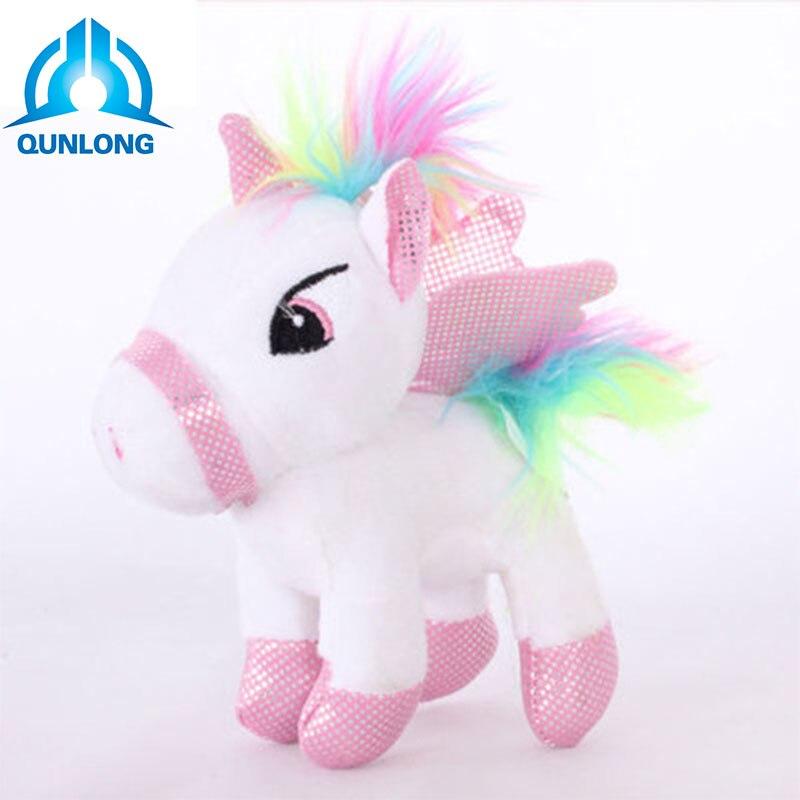 Unicorn Plush rainbow Pony Style Unicornio de Peluche arco iris estilo Pony