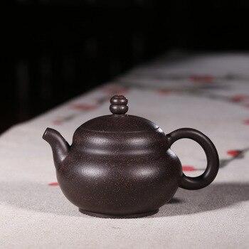 Yixing teacher pure manual gourd recommended travel wholesale custom ceramic tea-pot teapot tea set