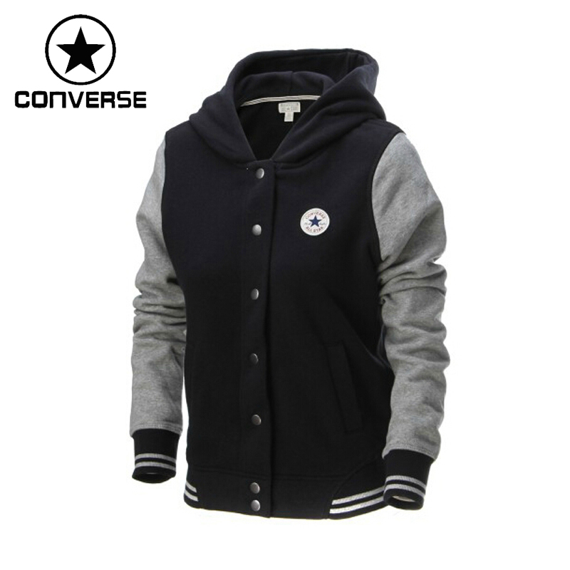 ФОТО Original   Converse women's jacket 12886C003/12886C669/12886C439 knitted Hoodie sportswear