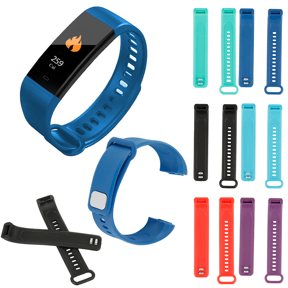 Young Colorful Silicone Replacement Smart Bracelet   Strap Band For Y5 Smart Bracelet Sport Wristbands