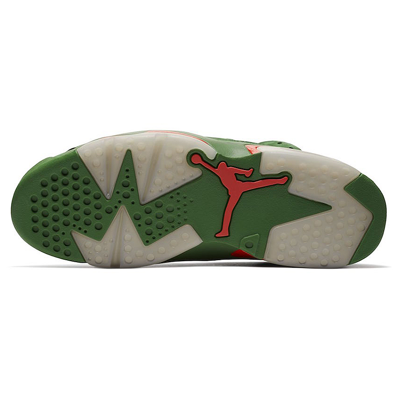Nike Air Jordan 6 Gatorade AJ6 Green Suede Men's Basketball Shoes Outdoor Sneakers Athletic Designer Footwear 2018 New Walking 17