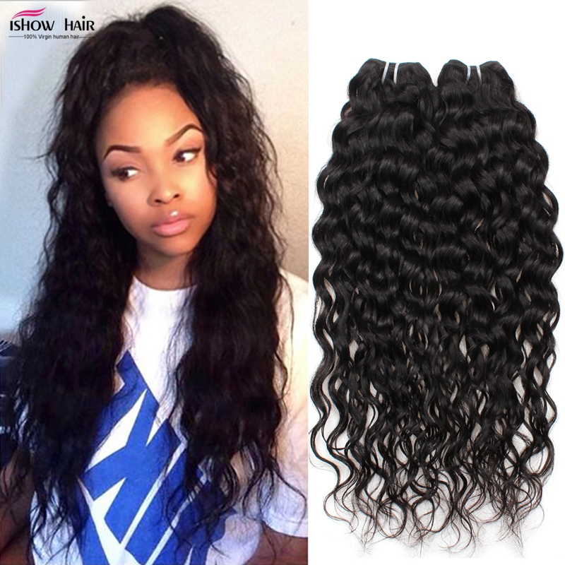 3 Bundles Peruvian Virgin Hair Water Wave Virgin Hair