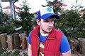 2016 Новое Прибытие Тяжести Падений Синий Дерево Медведица Шляпа Бейсболка Snapback Casquette регулируемый для Ребенка Мальчики Девочки