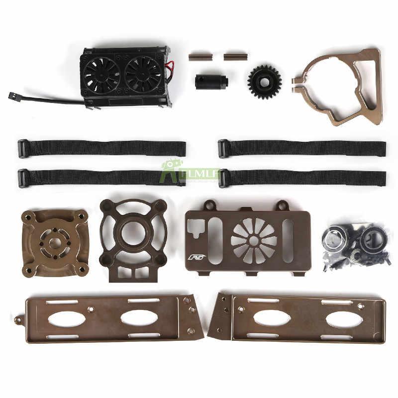 F5 Kit de aceite a eléctrico sin potencia apto para 1/5 piezas de coche ROVAN F5 CD XS-5 Rc