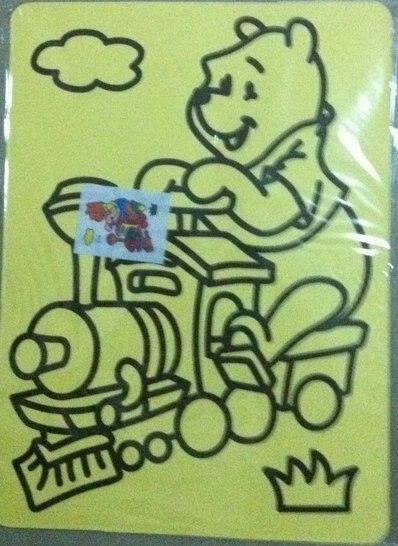 Подарки своими руками цвет рисование песком комплекты для дети, 40 pcs/lot, Смешанный degisns_free