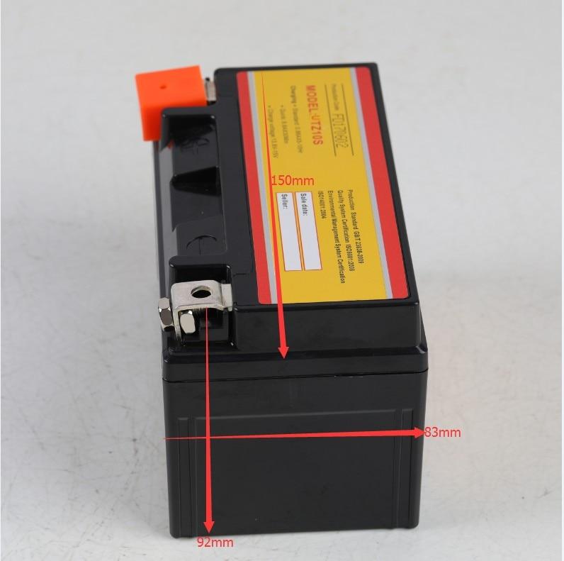 Lithium Ion Battery jmt HJTZ10S Honda CB900//°F Hornet CB1000R ABS