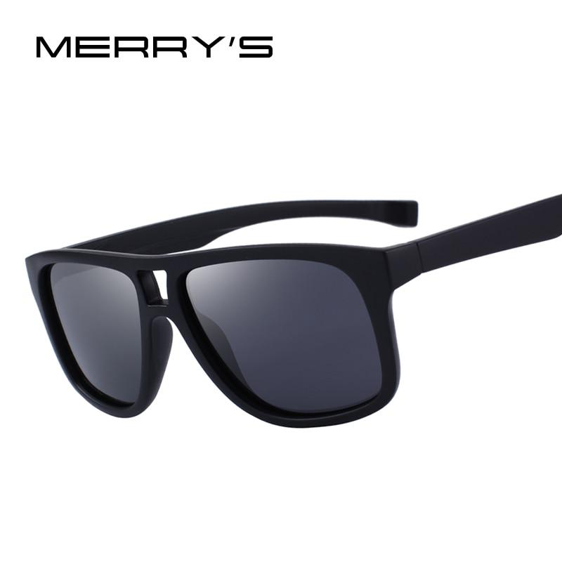 MERRY'S CONCEPTION Hommes lunettes de Soleil Polarisées Sports de Plein Air Mâle Lunettes 100% UV Protection S'8459