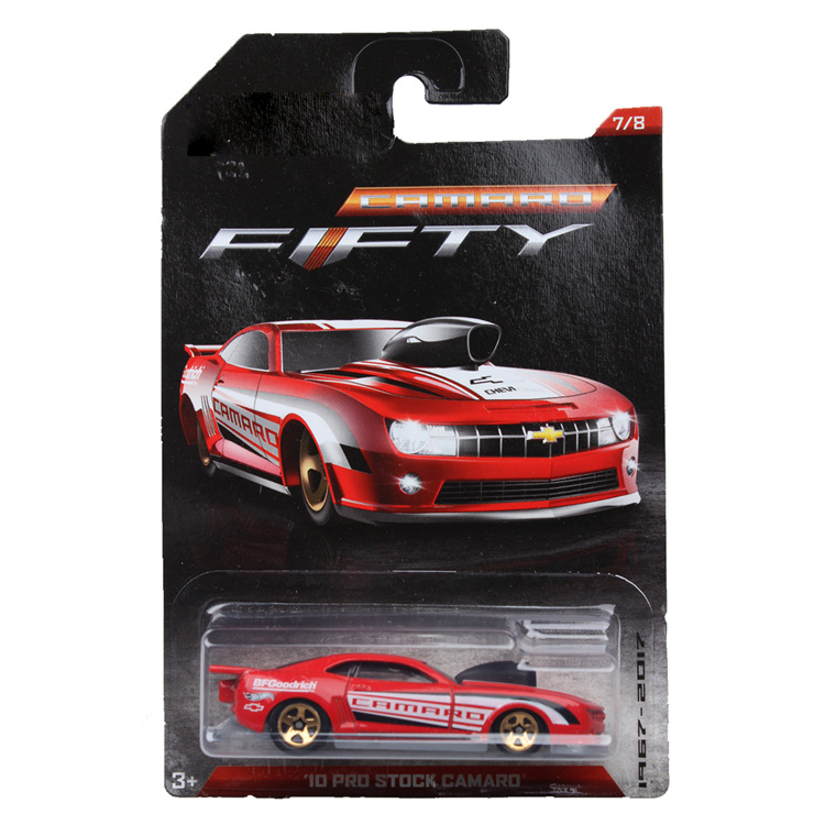 Hot Wheels 1:64 Sports Car CAMARO 50th Anniversary Collector Edition Metal Diecast Model Race Car Kids Toys Gift
