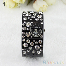 Exquisite Rhinestone Crystal Bracelet Watch