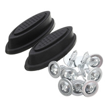 Feet-Pad Replacement Luggage-Feet Any-Bags Plastic Black for Kit Fashion Stud-Foot 2X