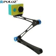 Puluz PU143 складной палка для селфи монопод для спорта цифровой Камера аксессуары регулируемый руку ручные для GoPro для xiaoyi
