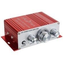 12V 2 Channel HiFi Stereo Audio Amplifier Mini Digital Amplifier Hifi Stereo