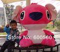 Супер Симпатичный Limited Edition! 120 см/47 ''Крупнейшая Гигантские Плюшевые Розовый Стежка Бесплатная Доставка FT90089