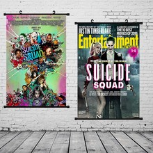 Suicide Squad Poster DC Movie Canvas Painting Task Force X Home Decor Wall Art Print Picture
