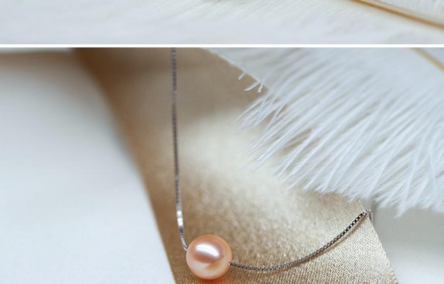 tiny pearl pendant (3)