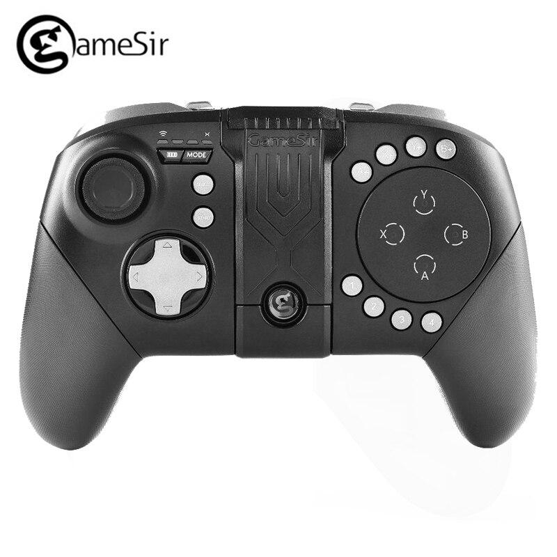 GameSir T4w contrôleur filaire USB type-c double manette de Vibration Gamepads de jeu pour Windows PC commutateur pour pubg