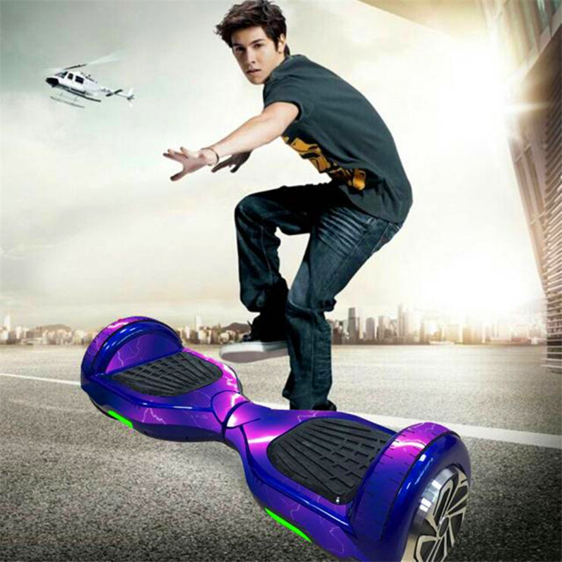 """Protective Vinyl Skin Decal Cover For 6.5in Self Balancing Scooter Hoverboard 2 Wheels Hoverboard Sticker Fits All 6.5"""" Models"""