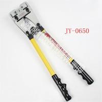 6-50MM2 Biegen werkzeug JY-0650 Manuelle Draht Biegen Werkzeug Manuelle kompression werkzeug mit einem langen griff