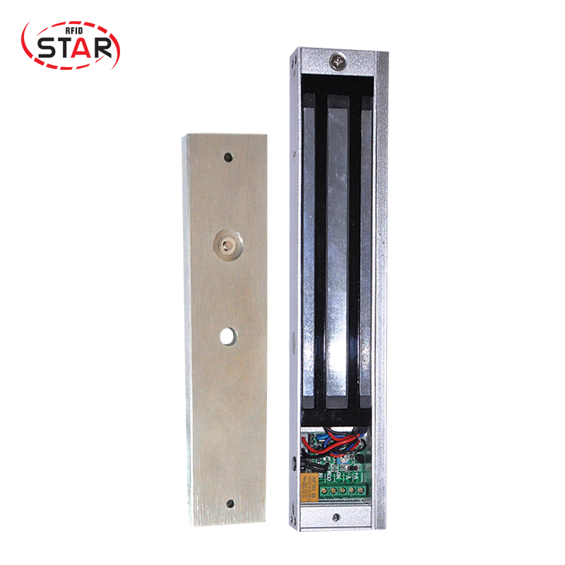 High Quality Glass/wooden/fireproof door 280kg(600Lbs) holding force feedback delay Magnetic Door Lock stainless steel gate lock with waterproof for wooden door glass door metal door fireproof door 280kg 600lbs electromagnetic lock