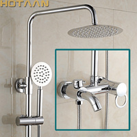 Free Shipping Bathroom Mixer Bath Tub Copper Mixing Control Valve Wall Mounted Shower Faucet Concealed Faucet