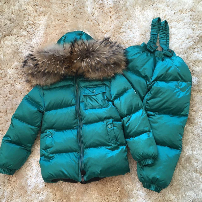 Kids Clothes Boys Girls Winter Down Coat Children Warm Jackets Toddler Snowsuit Outerwear +Romper Clothing Set Russian winter kids snowsuit clothes winter down jackets for girls boy children warm jacket toddler outerwear coat pant set deer print clothing