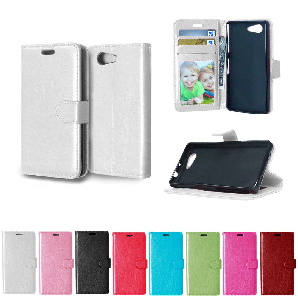 Flip Case For Sony Xperia Z 3 Compact Z3 mini D5803 D5833 M55W Case Solid color Photo Frame Phone Leather Cover For Sony Z3miniFlip Case For Sony Xperia Z 3 Compact Z3 mini D5803 D5833 M55W Case Solid color Photo Frame Phone Leather Cover For Sony Z3mini