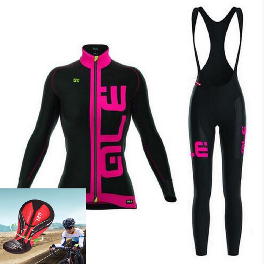 2018ALE summer new bike riding suit mountain bike outdoor long sleeve sports suit women models