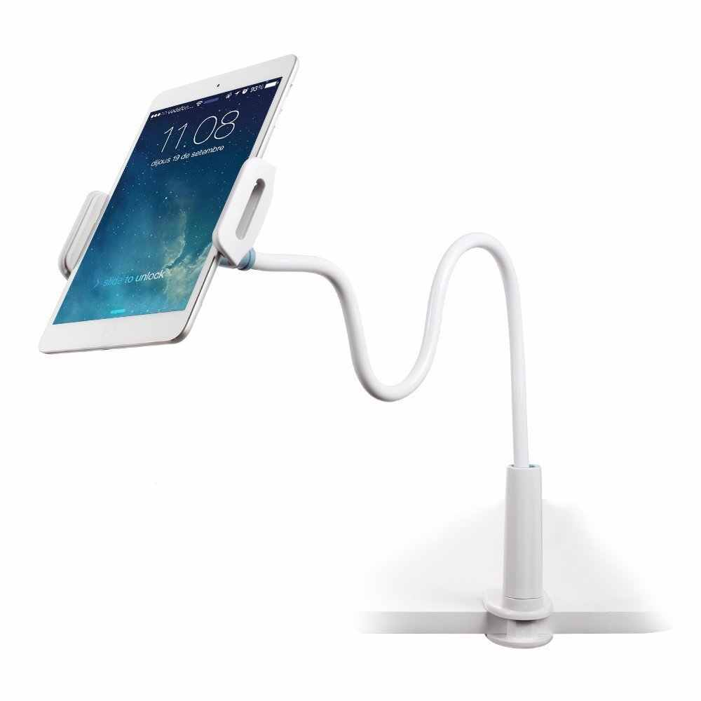 Portefeuille Cell Phone Holder Clip Lazy Flexible Gooseneck Clamp Long Arms Mount for iPhone 7 8 plus 6S iPad Mini Pro Bed Stand