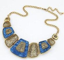 Vintage Bib Choker Necklace