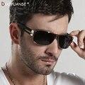 De alta calidad de los hombres gafas de sol Polarizadas estrella con estilo gafas de Sol Gafas de espejo de rana de metal al aire libre 8459 Gafas al por mayor