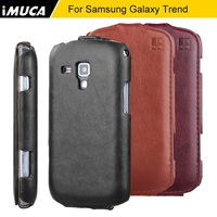 For Samsung Galaxy Trend Duos S7562 High Quality IMUCA Flip PU Leather Phone Case Cover For