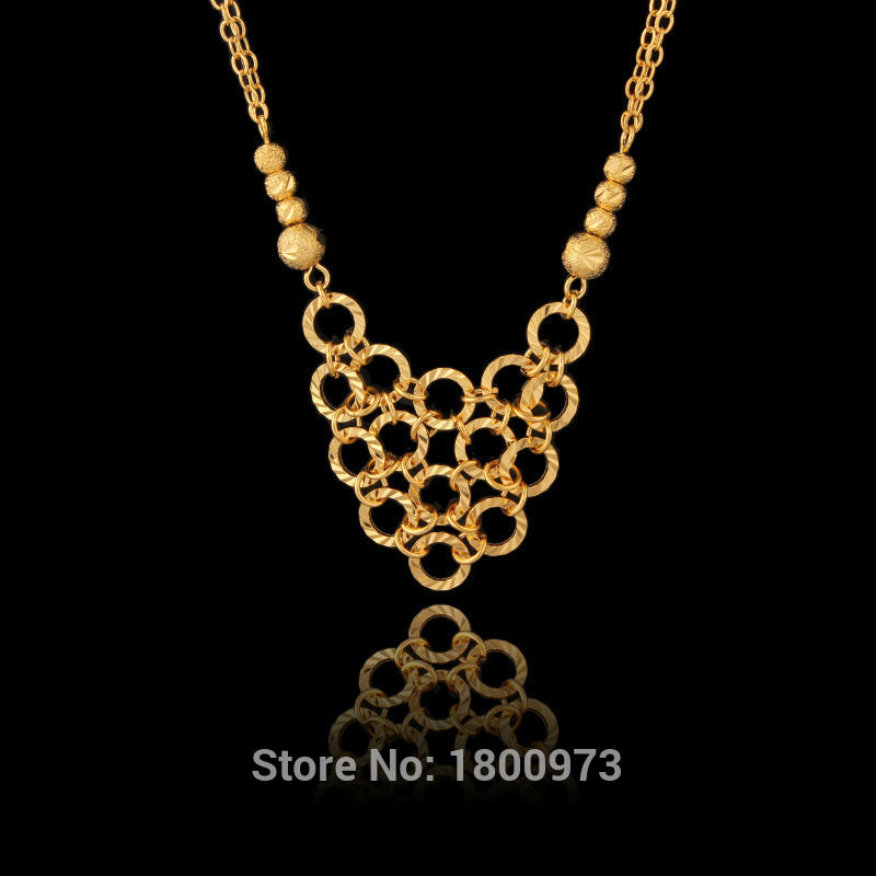 New Arrival Unique Gold Necklaces Jewelry Girls Women Gifts18K ...