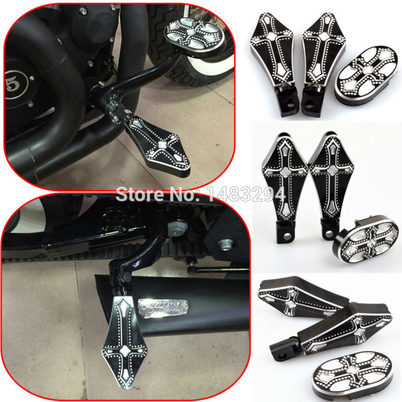 Brake Pedal Cover Pad And Driver Footrest Footpegs Fits fits for Harley Sportster XL 883 1200 Billet Aluminum mtsooning timing cover and 1 derby cover for harley davidson xlh 883 sportster 1986 2004 xl 883 sportster custom 1998 2008 883l