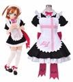 Anime LoveLive! Sunshine!! Kousaka Honoka Maid Dress Cosplay Costumes Size S-XL