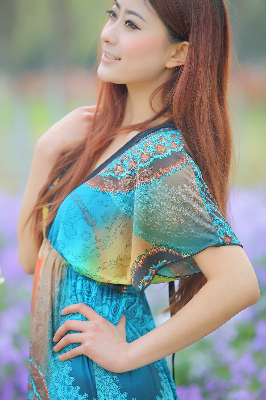 Boho Print Maxi Dress 6XL 9