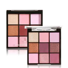 Makeup Eyeshadow Palette Luminous Matte Shimmer Smoky Waterproof Long-lasting Eye Shadow 2017