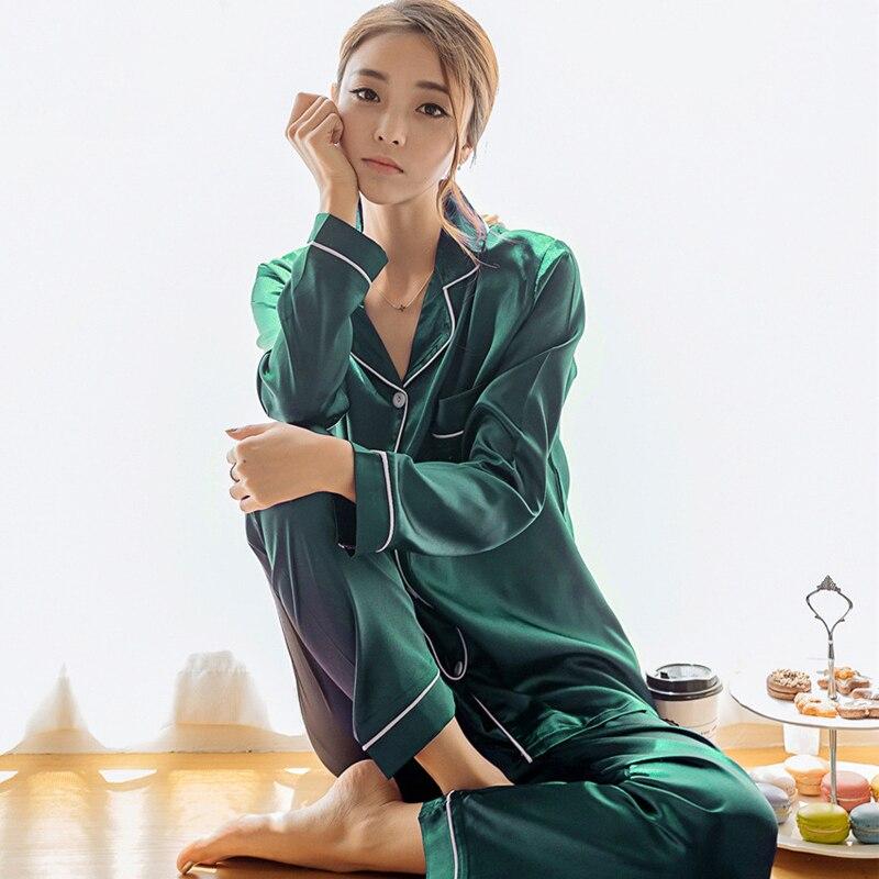 Silk Satin Pyjamas Set 2