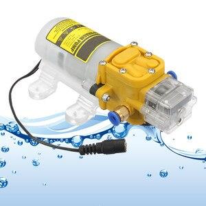 Эффективный 30 Вт 12В/24В 150PSI водяной мембранный самовсасывающий насос высокого давления