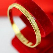 Матовый жёлтый золотистый женский браслет простой стиль ювелирные