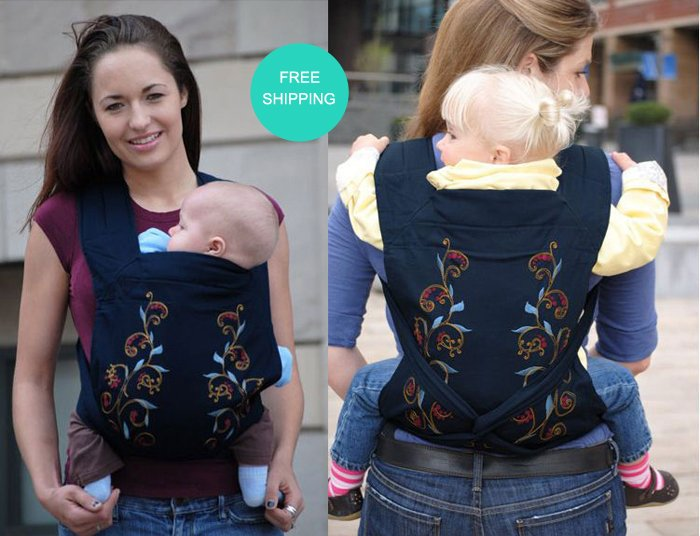 Us 23 0 2013 100 Cotton Brand Name Designer Front Back Newborn Baby Carrier Infant Comfort Backpack Sling Free Shipping In Backpacks Carriers
