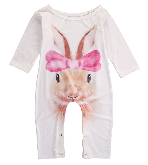 fb548351267c newborn baby girl romper spring warm rabbit rompers baby long sleeve baby  quilted pajamas jumpsuit toddler overalls unisex body