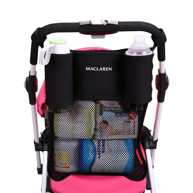 ba9037a3a Stroller Accessories Maclaren Black Baby Stroller Cup Holder Bag ...