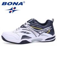BONA/Новые Классические Стильные мужские теннисные туфли на шнуровке, мужские спортивные туфли наивысшего качества, удобные туфли-мужские кр...