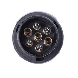 Image 5 - Accesorios para coche Conectores de remolque de plástico de 12 V adaptadores de 7 pines a 13 pines adaptadores y probadores de remolque