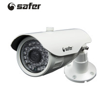 SAFER Security White Bullet Camera Video Surveillance Camera Outdoor 720P 30pcs IR Led Waterproof Video CCTV 1.0MP AHD Camera