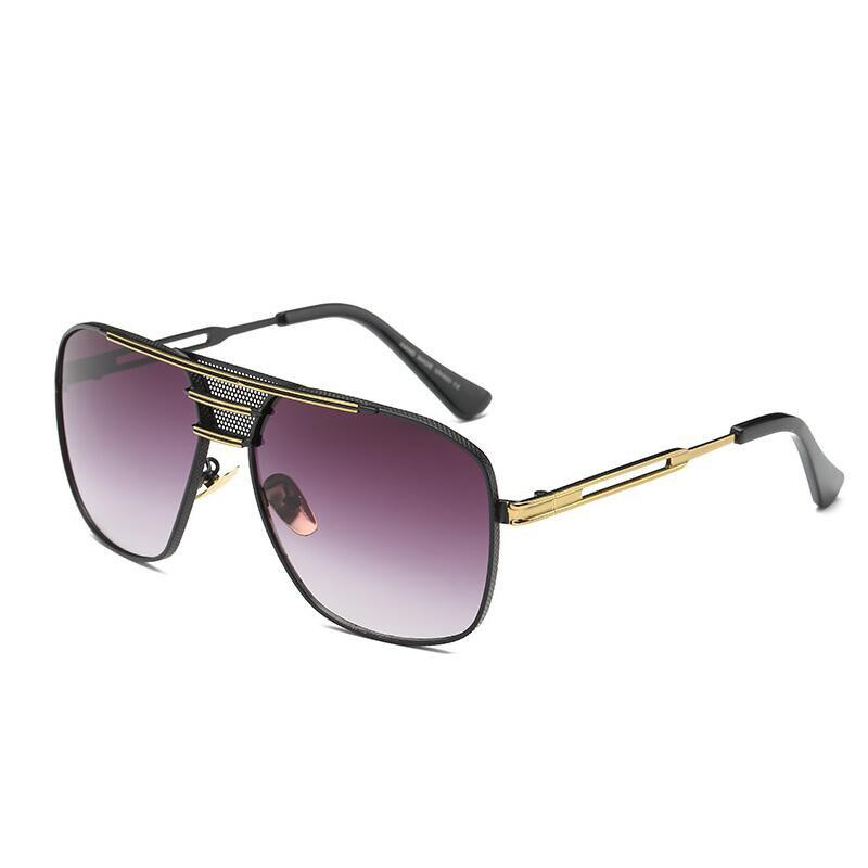 Männer Marke Designer Metall Brille Frauen Vintage Retro Sonnenbrille Hohe Qualität UV400