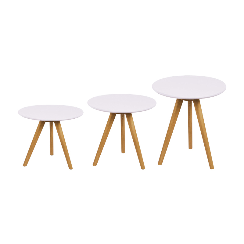 Special Ikea Scandinavian Minimalist Modern Anese Style Living Room Bedroom Creative Side A Few Small Coffee Table Round Wood In Tables From
