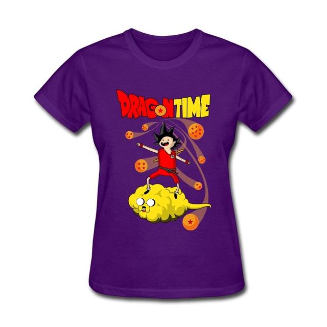 Dragon Ball Z Women's Summer Casual T-shirt
