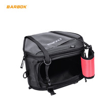 20-35L Motorcycles Tunnel Bags Front Storage Motorbike Racing Saddle Shoulder Straps Scooter Carbon PVC Motocross Bag