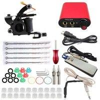 Complete Tattoo Kits Machine Set Permant Makeup Machine Set High Quality With Tattoo Tips Clid Cord